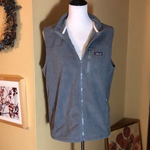PATAGONIA size Small ZipFront Fleece Vest $99 NEW
